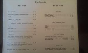 original Committee menu
